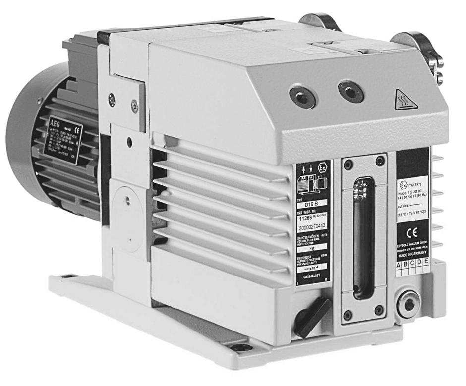 莱宝LEYBOLD 真空泵TRIVAC D 40 BCS