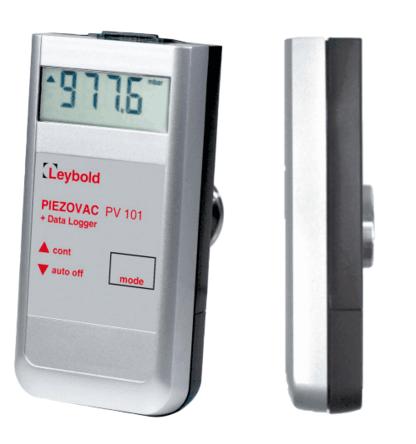 德国莱宝LEYBOLD手持式真空计Digital PIEZOVAC Sensor PV 101