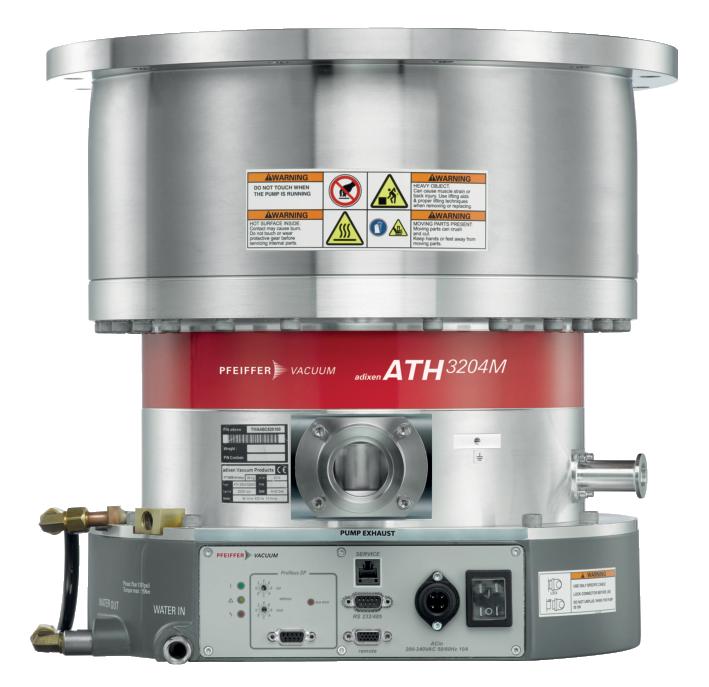德国普发真空pfeiffer vacuumATH 2804 M磁悬浮涡轮分子真空泵