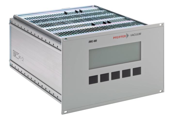 德国普发真空pfeiffer vacuum真空计控制器IMG 400测量单元
