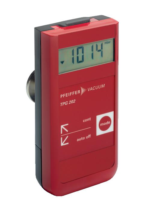 德国普发真空pfeiffer vacuumTPG 202,压电/皮拉尼手持式真空计