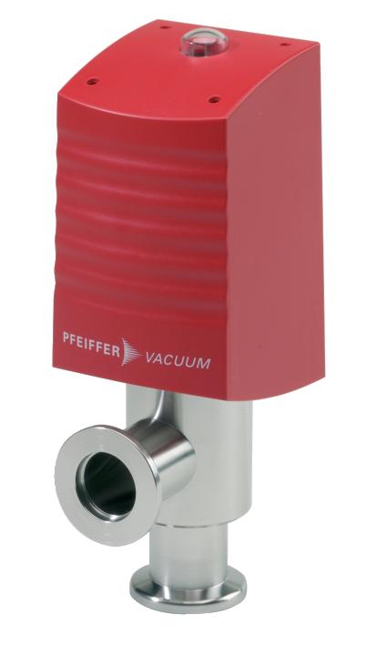 德国普发真空pfeiffer vacuum真空阀门AVC 016 PX,角阀,电动气动式,有 PI,有 PV,常开,24 V DC