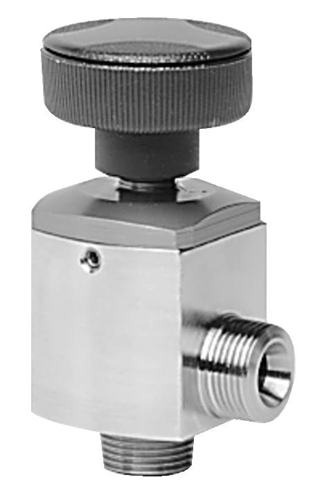 德国普发真空pfeiffer vacuum EVI 005 S,小型角阀,手动