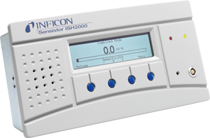 Sensistor ISH2000P 氢气检漏仪,面板型