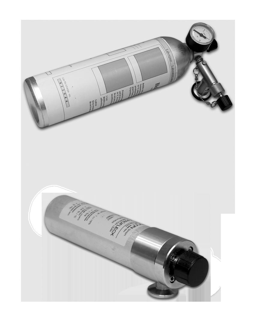 Calibration Leaks for Helium Vacuum Leak Detectors UL1000/UL1000Fab/UL5000