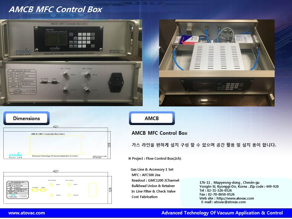MFC Control Box Unit 2 Channel