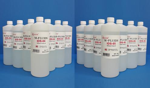 扩散泵油IDS-04/05(Silicone base) / IDAN 30(Alkylated Naphtalen Base)